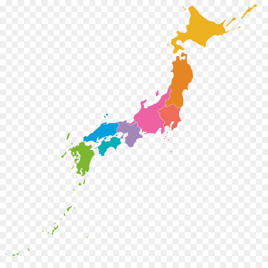 Japan Map Clip Art