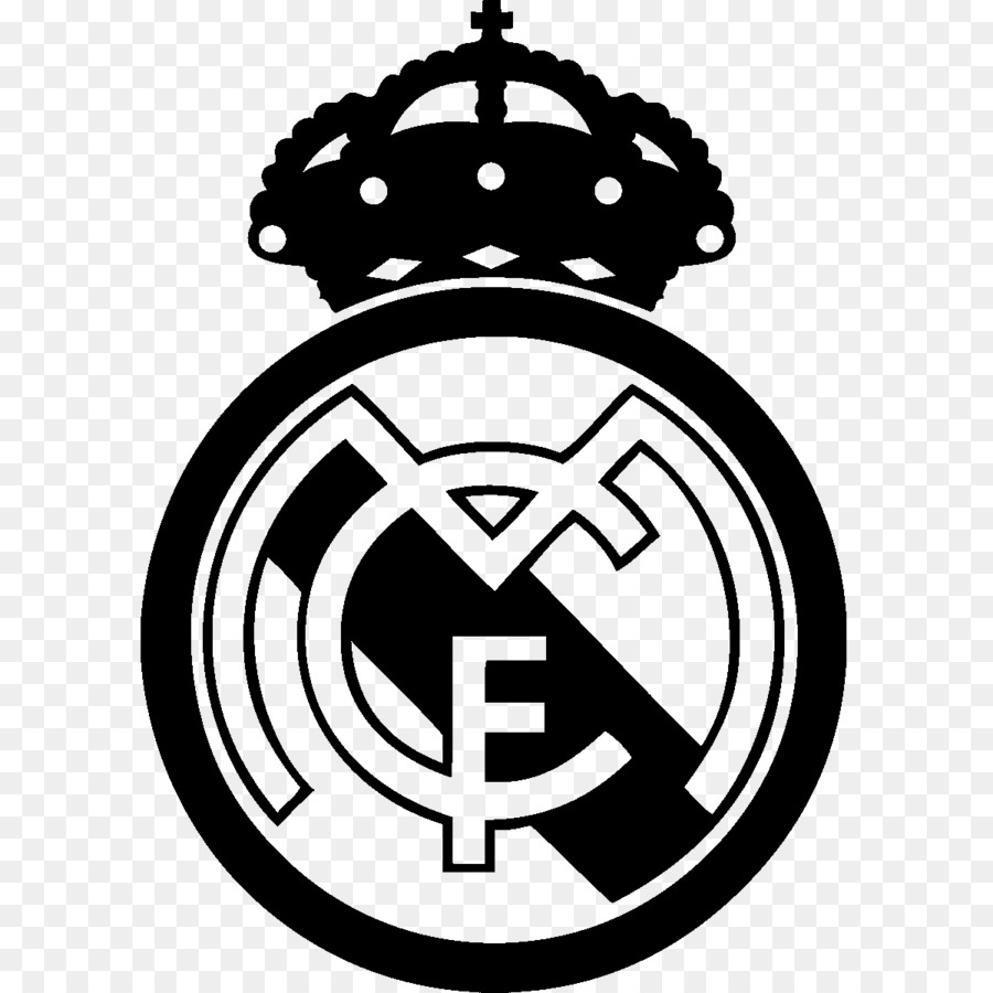 Real Madrid Logo Wallpaper Hd: Real Madrid Logo Png White