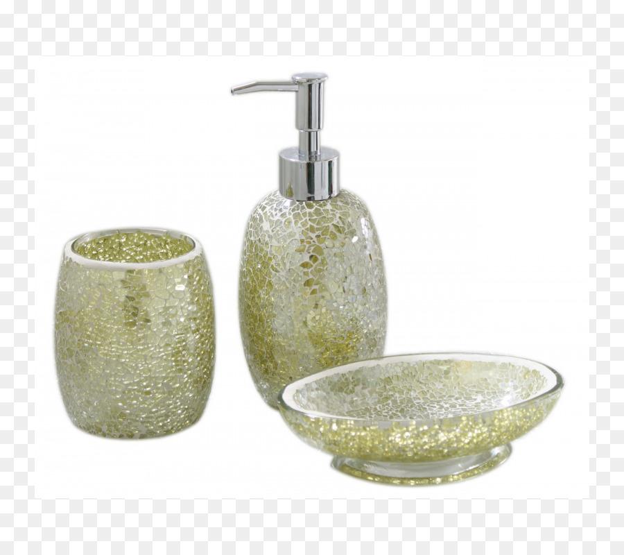 Modern Bathroom Soap dispenser Glass Carpet - glass
