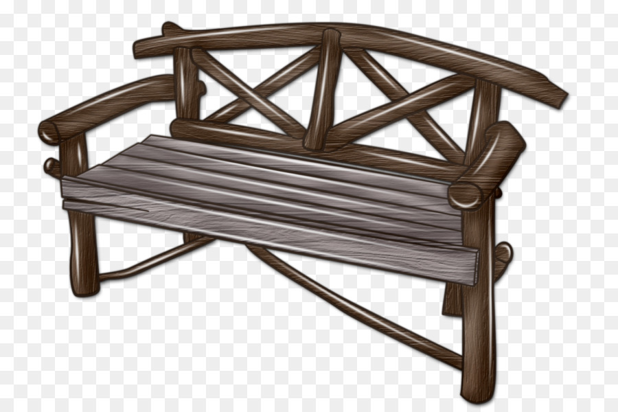 Bench Foot Rests Furniture Outdoor Png
