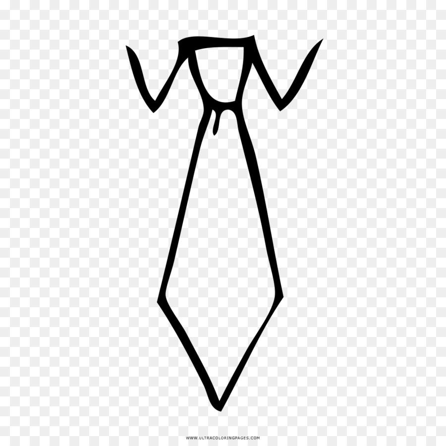 Hitam Dan Putih Pakaian Dasi Menggambar Buku Mewarnai Kemeja