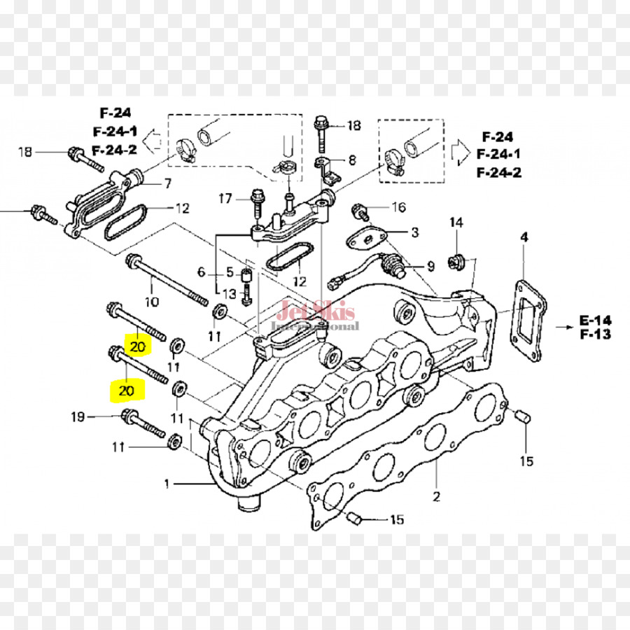 Car Wiring diagram Honda Jet Ski - car