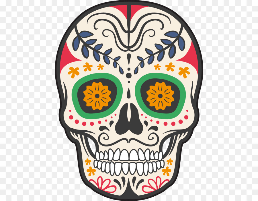 Calavera Mexico Skull And Crossbones Day Of The Dead Tete De Mort