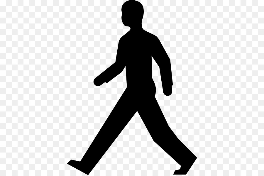 pedestrian clip art walking man png download 444 597 free rh kisspng com Seat Belt Clip Art Crossing the Street Clip Art