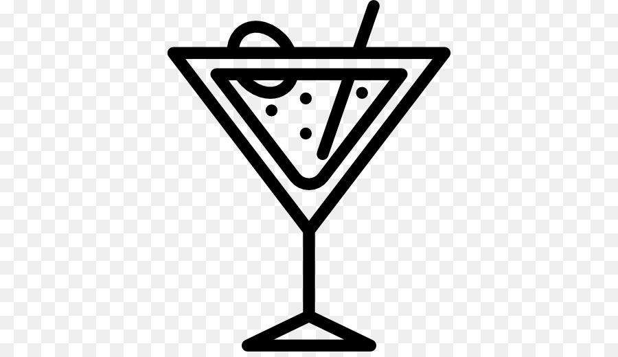 Cocktail Clipart Schwarz Weiß
