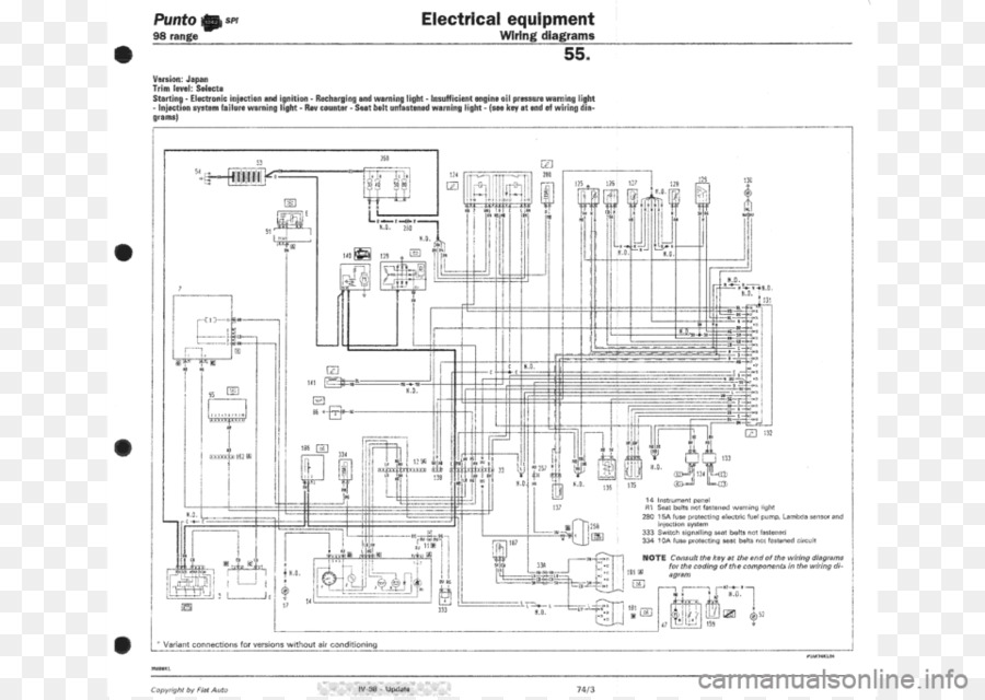 fiat punto wiring diagram fiat panda fiat png download 960 679 rh kisspng com  fiat uno electrical wiring diagram