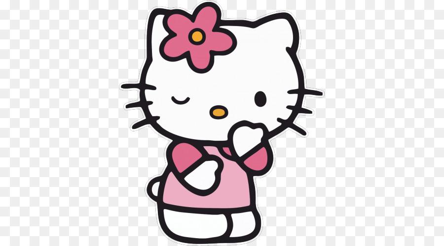 Hello Kitty Cat libro para Colorear, Dibujo de - gato png dibujo ...