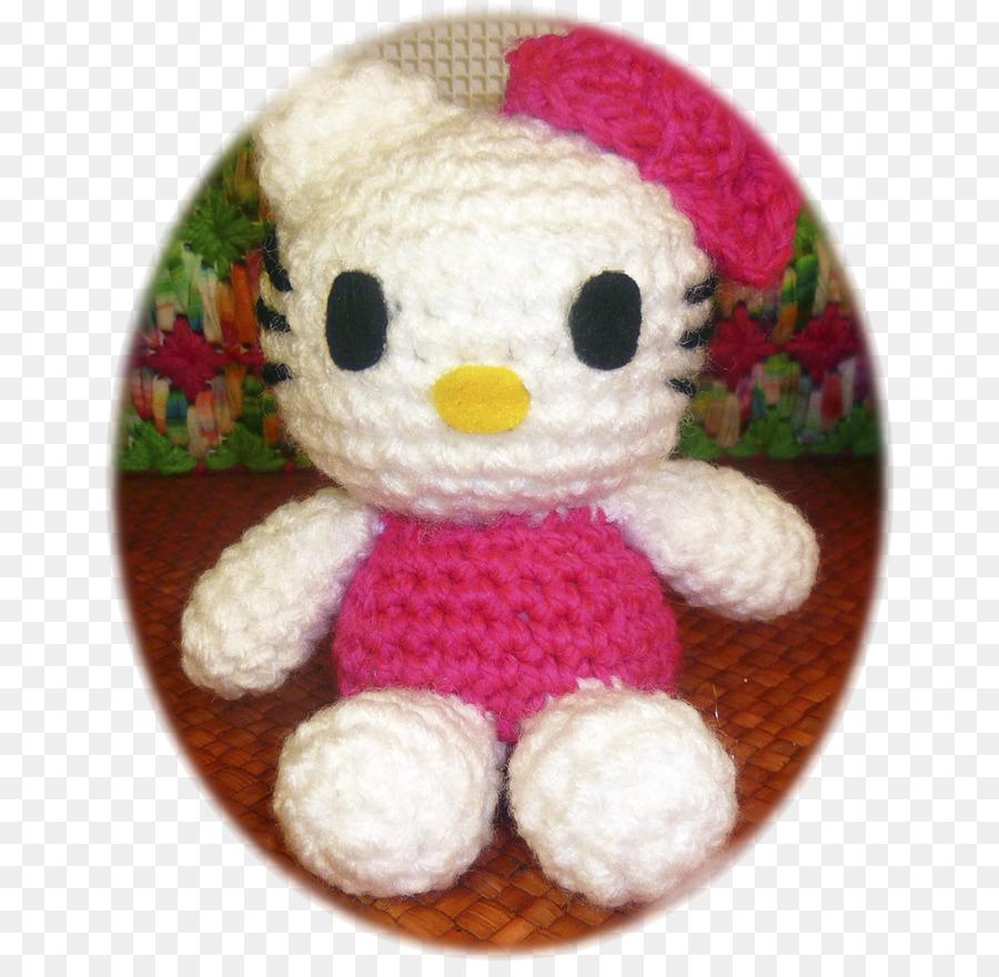 Crochet Animales De Peluche Y Juguetes De Peluche Amigurumi Hello ...