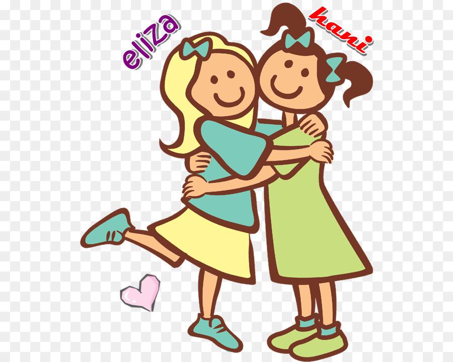 Schwester Clip Art Clipart Freunde Png Herunterladen 590720