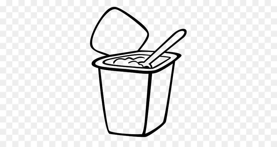 Dondurulmuş Yoğurt Yoğurt Boyama Kitabı çizim Süt ürünleri Yougurt