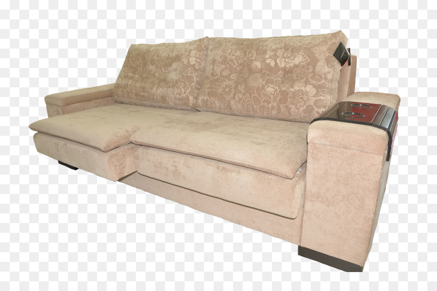 Sofa Bed Loveseat Couch Suede Png