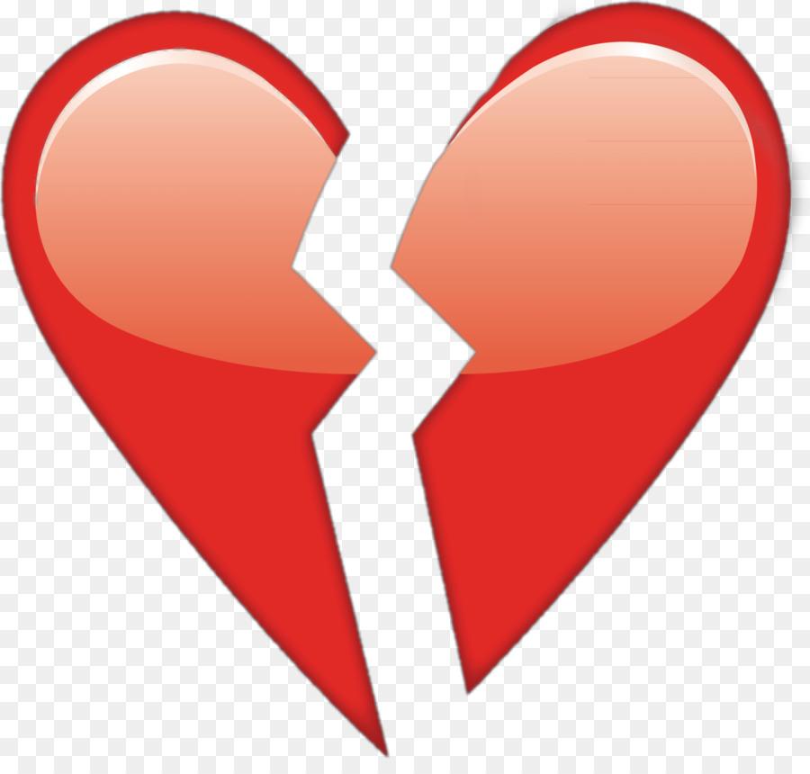 Broken Heart Symbol Emoji Heart Png Download 15351437 Free