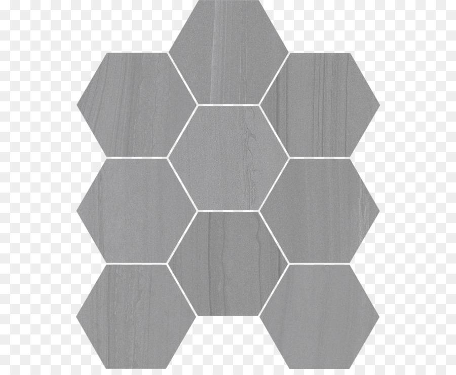 Carrara Hexagon Tile Marble Ceramic Tile Shading Png Download