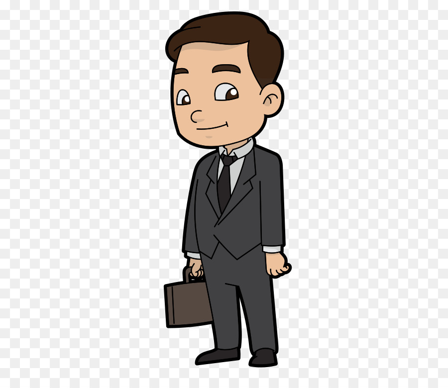 Businessperson Job Businessman With Briefcase Man Looking Png