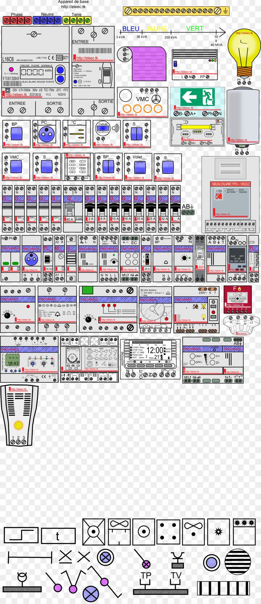Electronic symbol Electricity meter Circuit diagram - symbol png ...