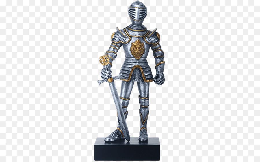 Ritter Mittelalter Figur Statue Ritterlichkeit Ritter Png