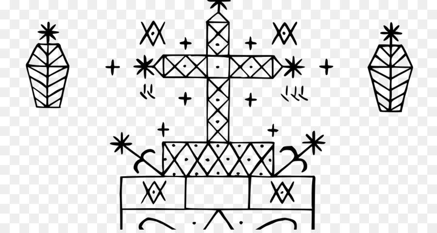 Veve Haitian Vodou Baron Samedi Loa West African Vodun Symbol Png