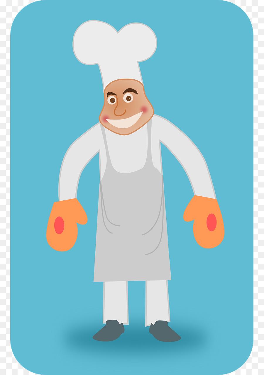 Pemanggang Koki Memasak Roti Panggang Dijual Pemanggang Unduh