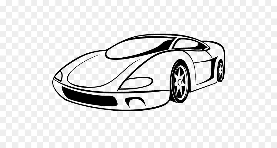Auto deportivo Lamborghini Gallardo Dibujo - coche deportivo png ...