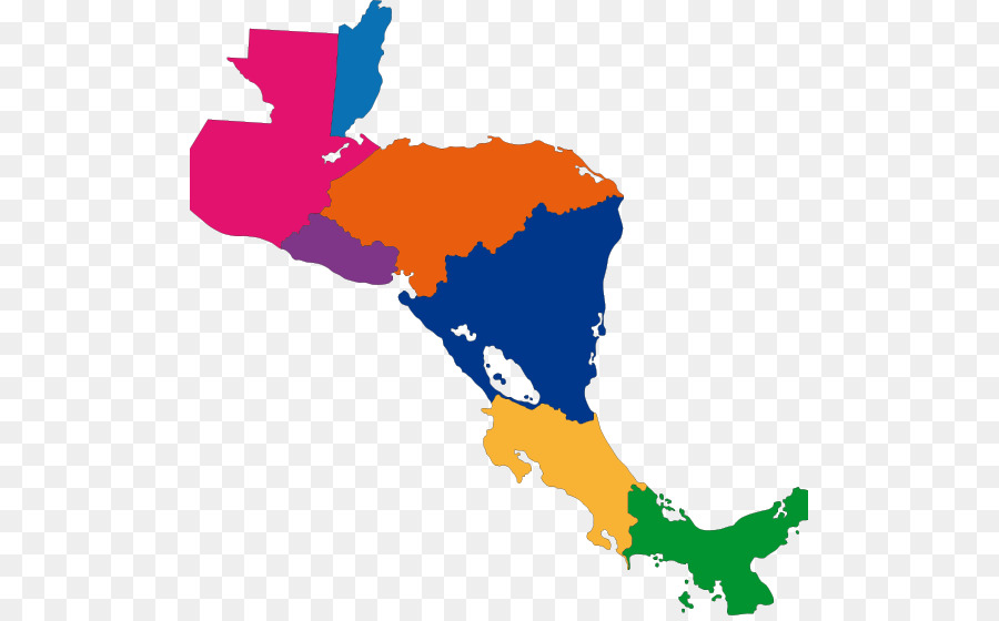 Map Of America Png.Central America Map Stock Photography Map Png Download 557 556