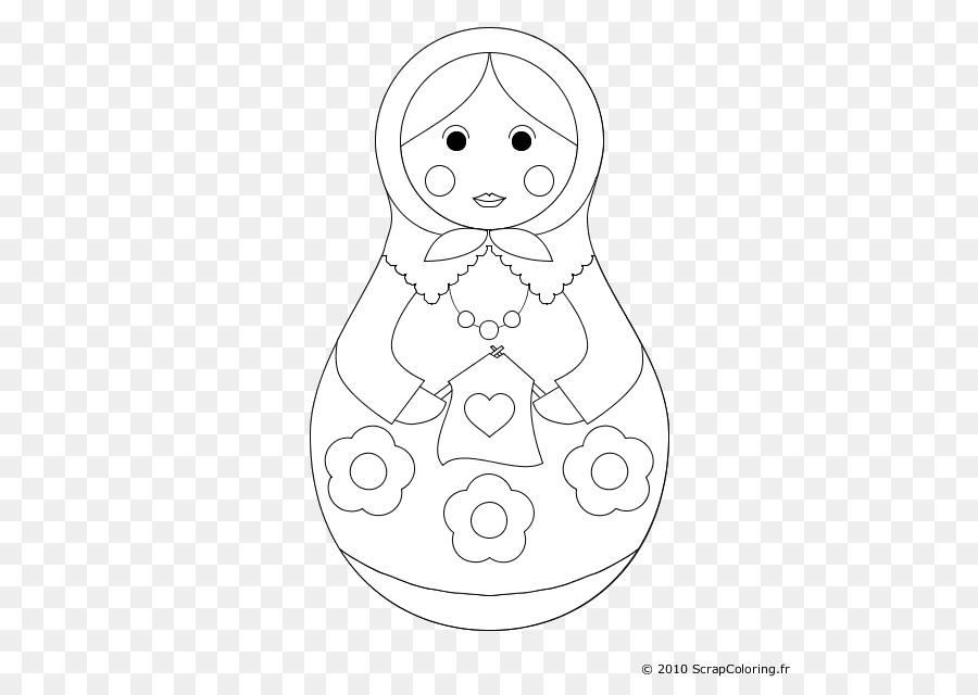 Matruşka Bebek Boyama Kitabı çizim çocuk Bebek Png Indir 600630
