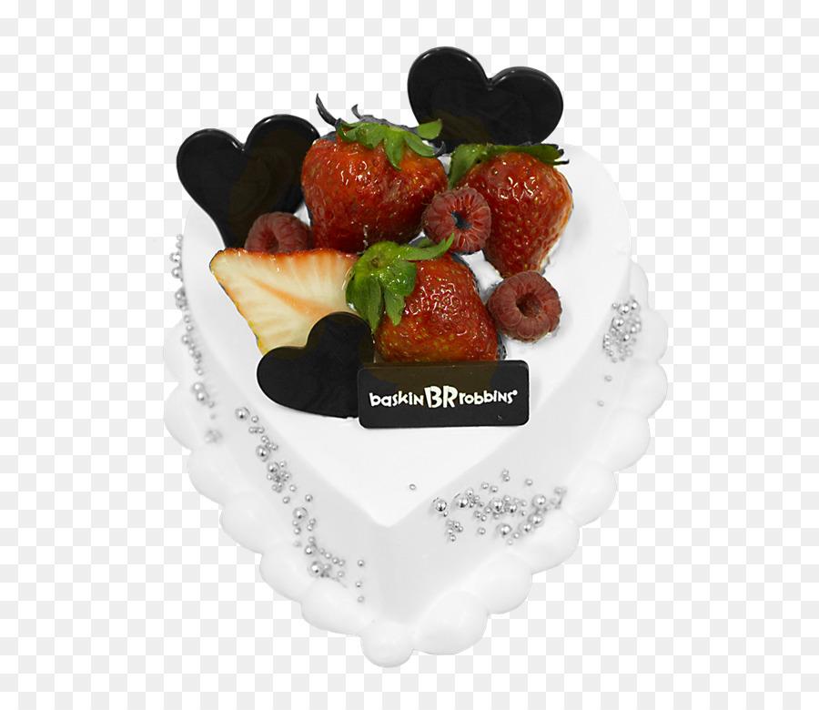 Ice Cream Bnh Strawberry Birthday Cake Ice Cream Png Download