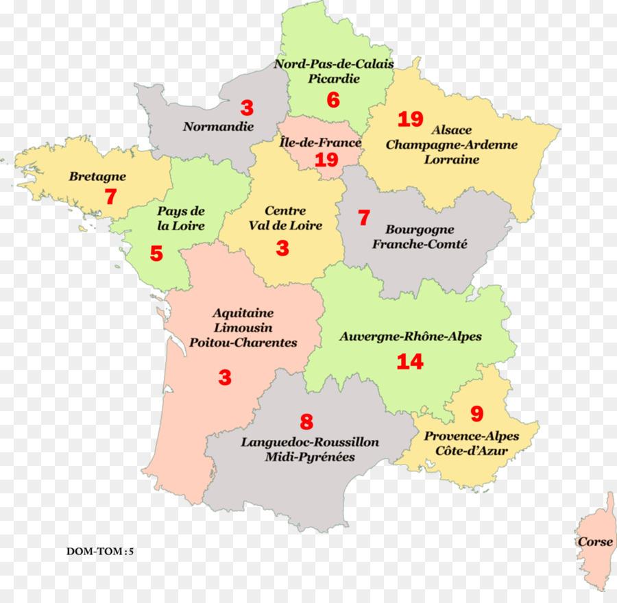 Metropolitan France Hauts-de-France Grand Est Regions of France ...