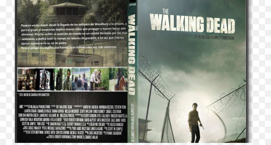 Poster The Walking Dead - Season 4 Television show Printing ...