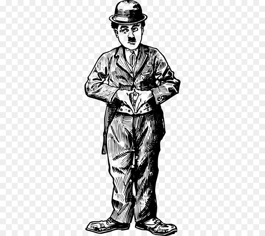 Actor Drawing Clip art - charlie chapline Formatos De Archivo De ...