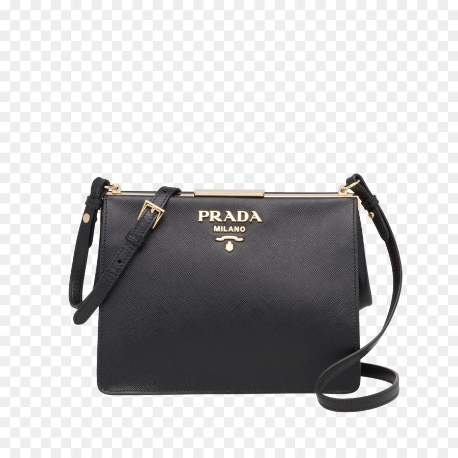 Handbag Leather Messenger Bags Prada - prada bag png download - 2400 2400 -  Free Transparent Handbag png Download.