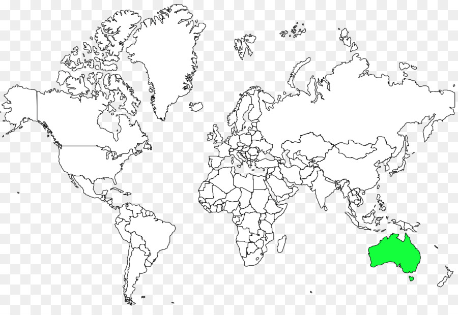 World map Coloring book Border   world map png download   1080*740