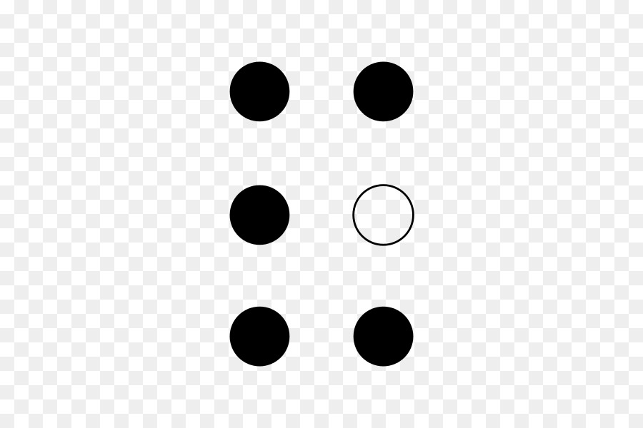 Braille Anglais Lettre De L Alphabet Y Dimensions Des Personnages