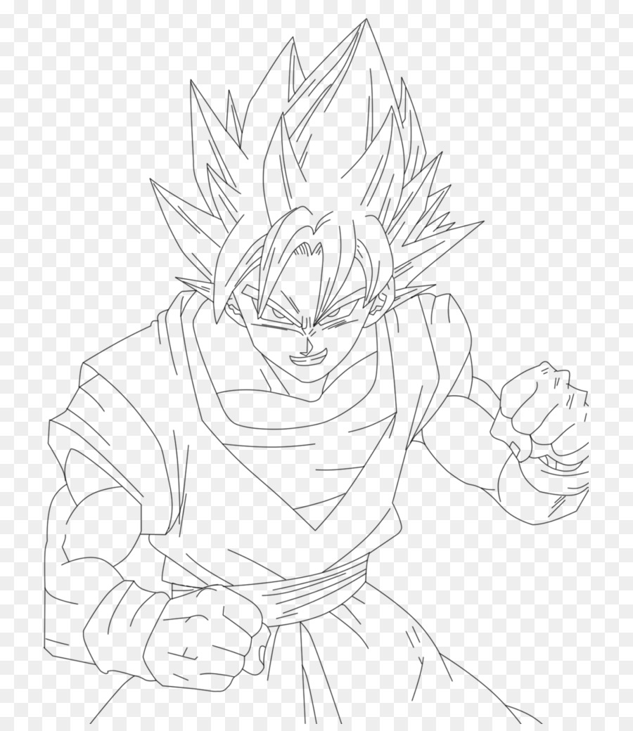 Beerus Line Art Deviantart Sketch Dragon Ball Drawing Png Download