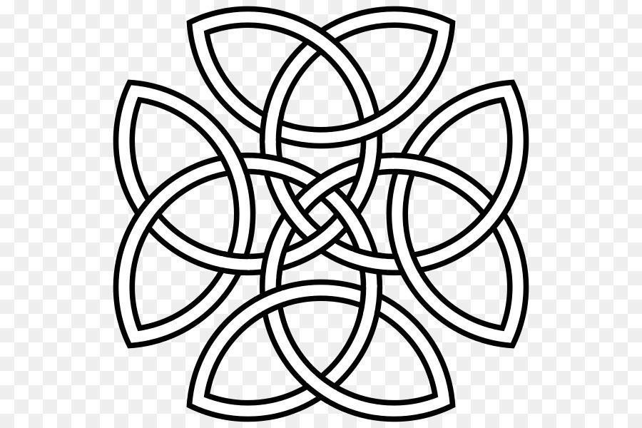Celtic Knot Symbol Father Triquetra Son Symbol Png Download 600