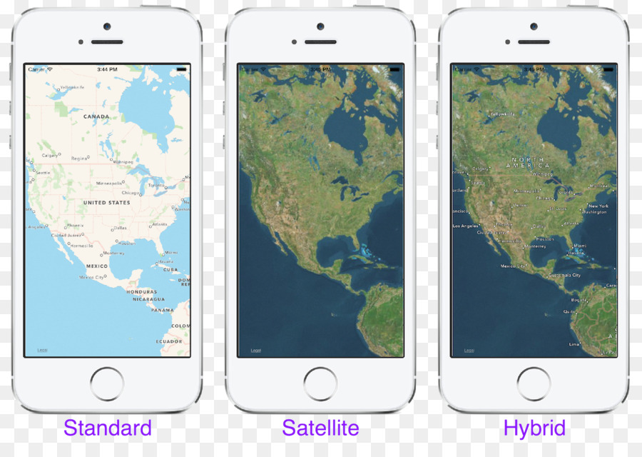 Smartphone Apple Maps Xamarin Smartphone Png Download - Microsoft satellite maps
