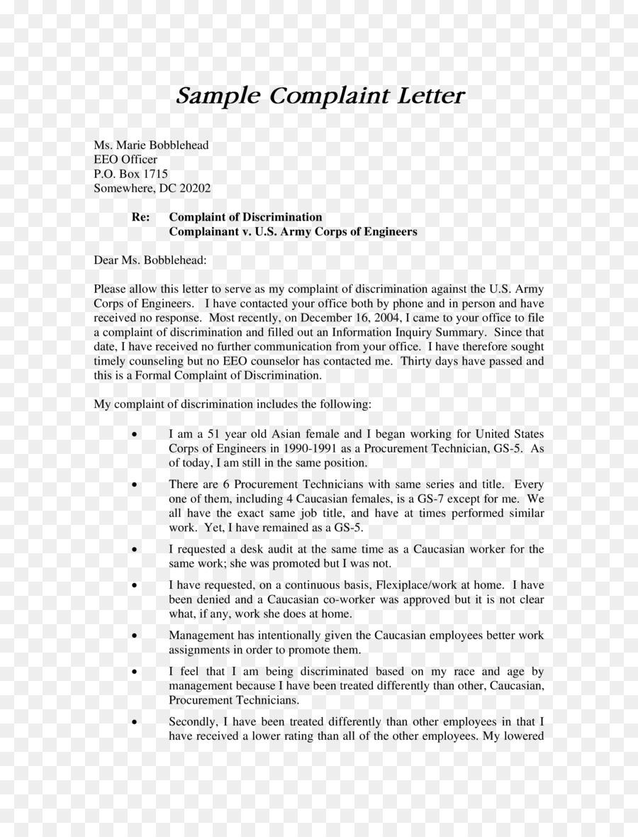 Complaint form letter writing grievance racial discrimination png complaint form letter writing grievance racial discrimination maxwellsz