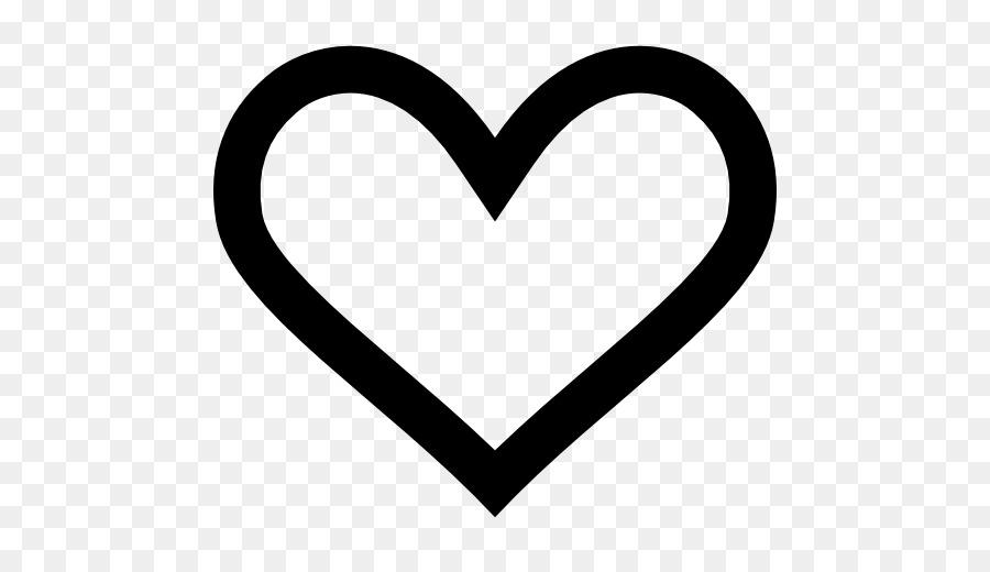 Iconos De Equipo De Descarga - transparente corazón esquema png ...