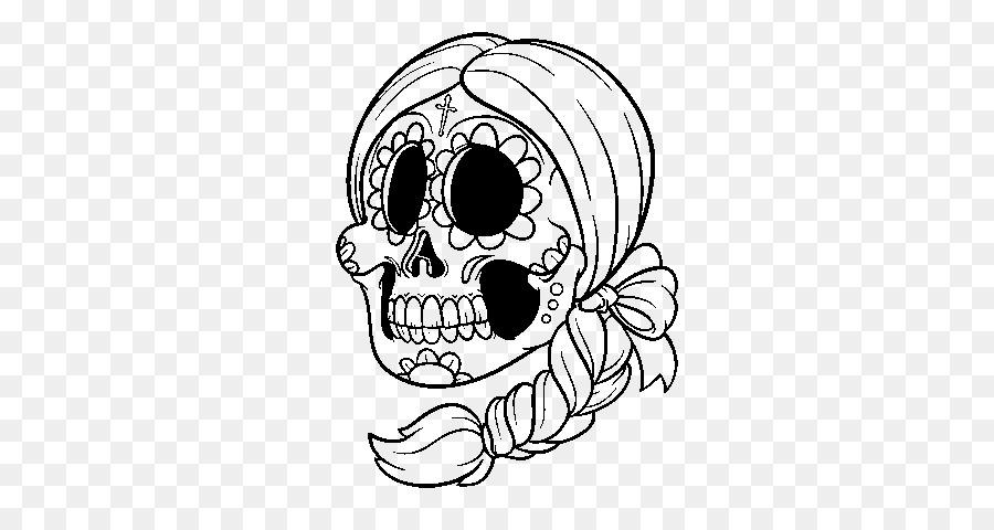 La Calavera Catrina México el Día de los Muertos para Colorear libro ...