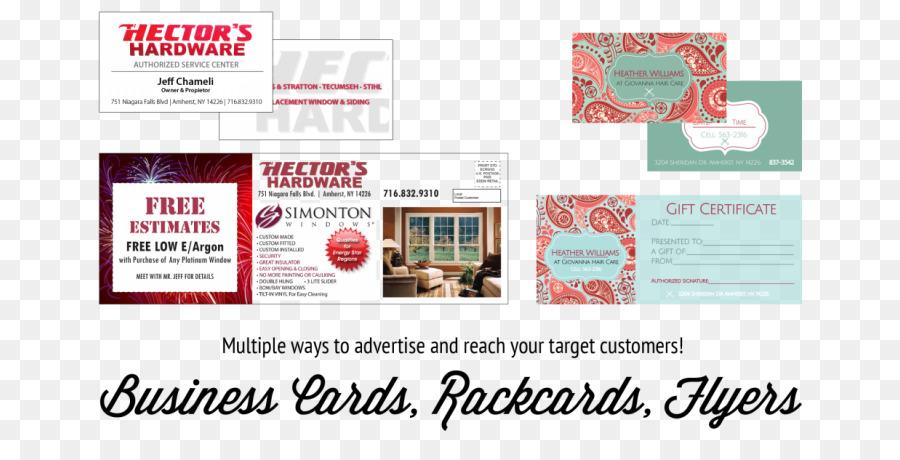 Werbung Visitenkarten Marketing Der Marke Gemeinschaft