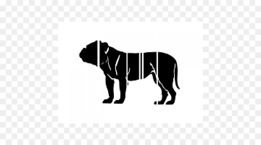 Cão De Filhote De Cachorro Da Raça Bulldog Americano Bulldog