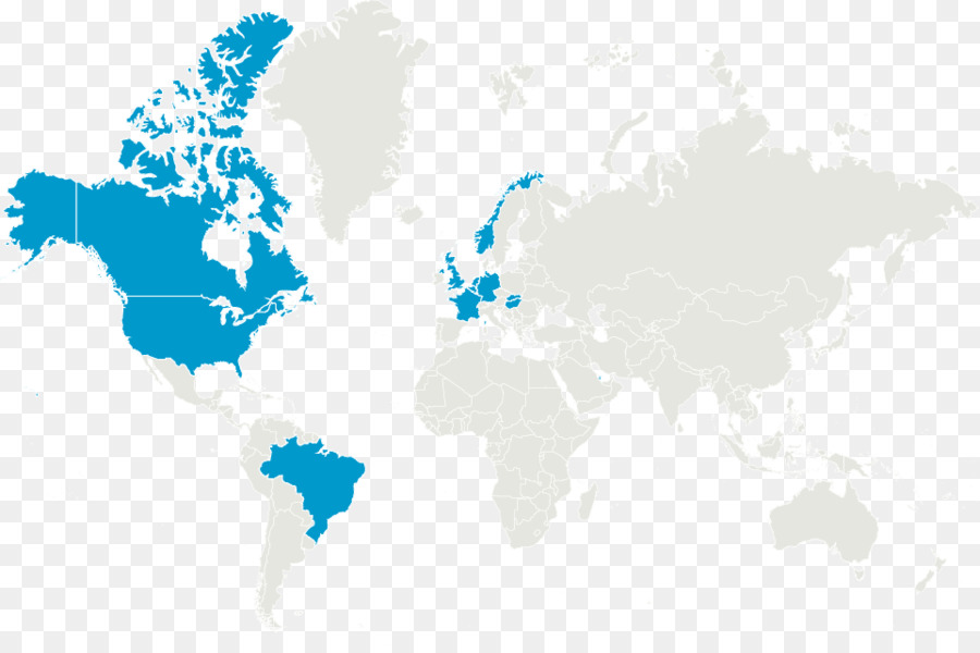 Dunia Peta Benua Amerika Serikat Png Unduh 960 633 Gambar