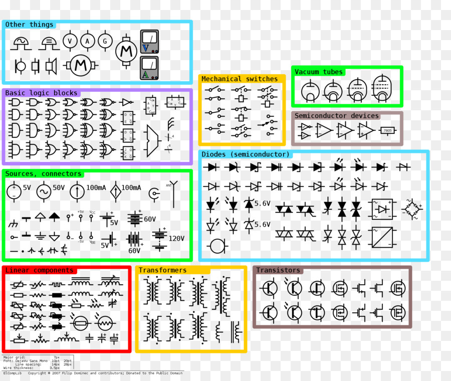 Wiring Diagram Schematic Electrical Engineering Electronic Symbol