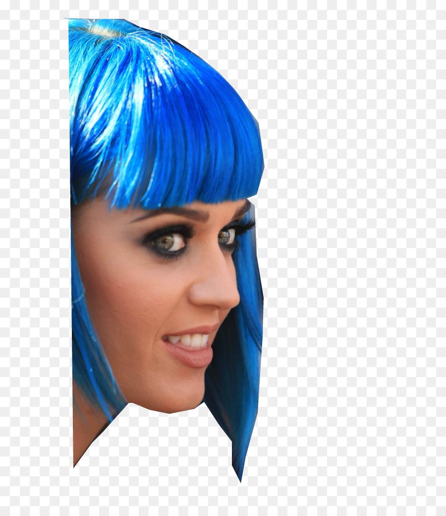 Haare Blau Färben Haare Frisur Menschliches Haar Farbe Haar Png