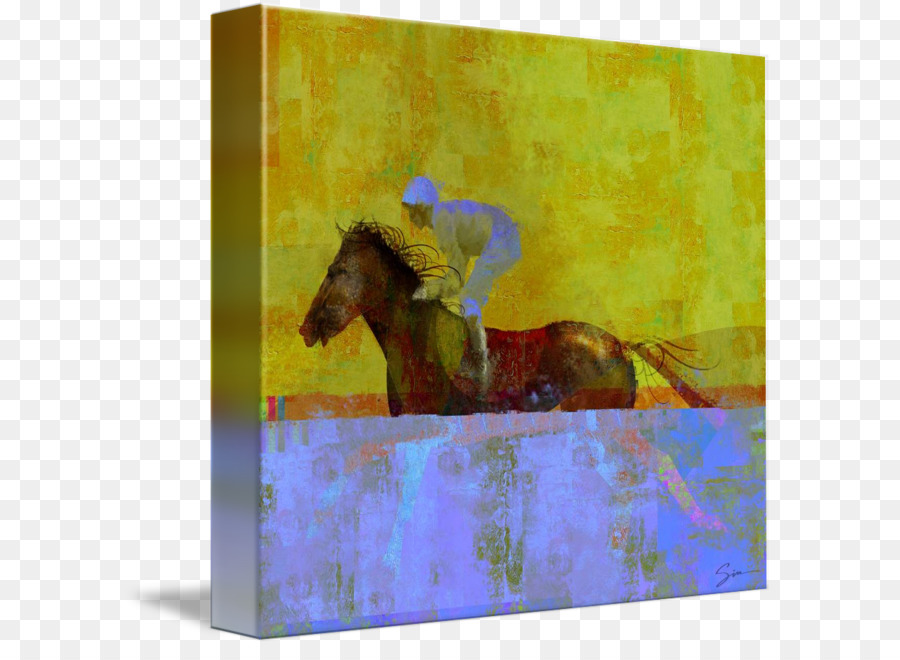 Painting Picture Frames Gallery wrap Modern art Canvas - painting ...