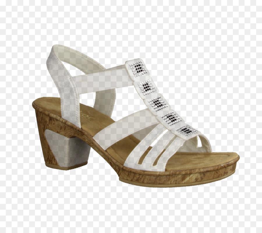 best sneakers cbdeb 51ed2 Sandale Rieker Schuhe Kariss Schuhe Beige - Sandale png ...