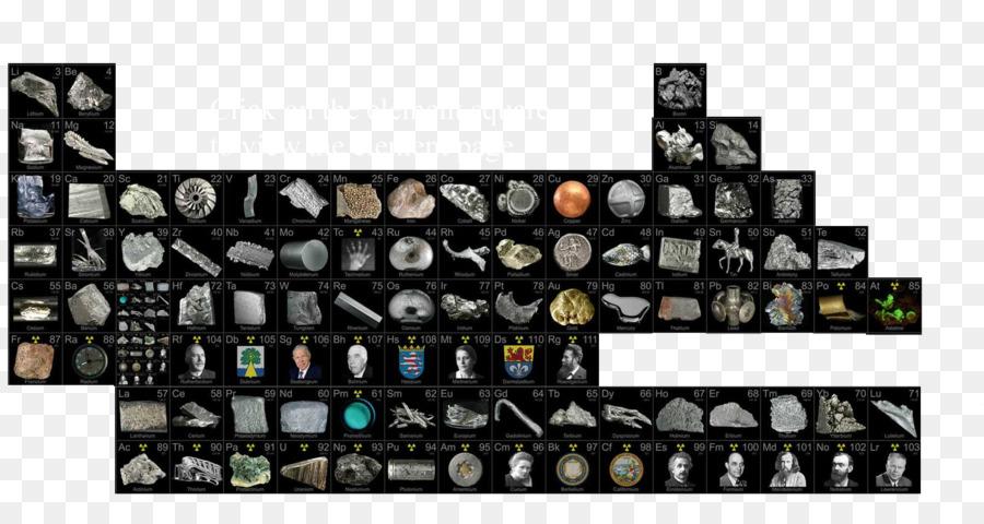 Tabel Periodik unsur Kimia Teknologi - tepi logam png unduh