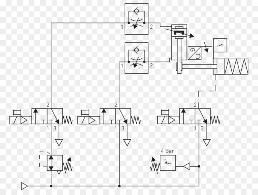 Schematic Circuit Diagram Wiring Diagram Pneumatic Circuit