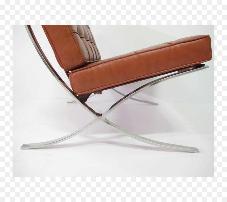 Barcelona Chair Furniture Stool Industrial Design Chair Png