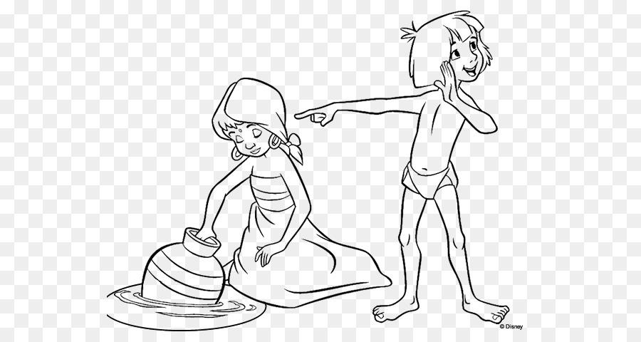 El Libro De La Selva Bagheera Mowgli Dibujo - EL LIBRO DE LA SELVA ...