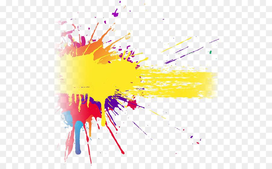 Banner Paint Color Design Png Download 553551 Free